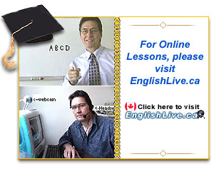 Check out Teacher Tom's Live Online English Lessons